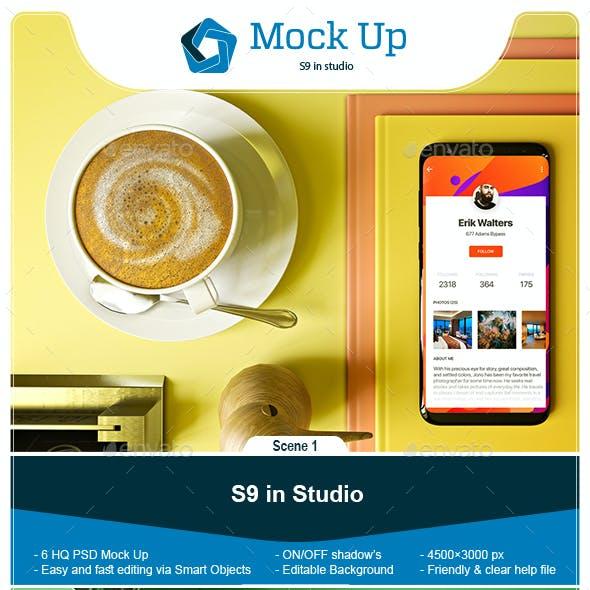 S9 in Studio Mock-up