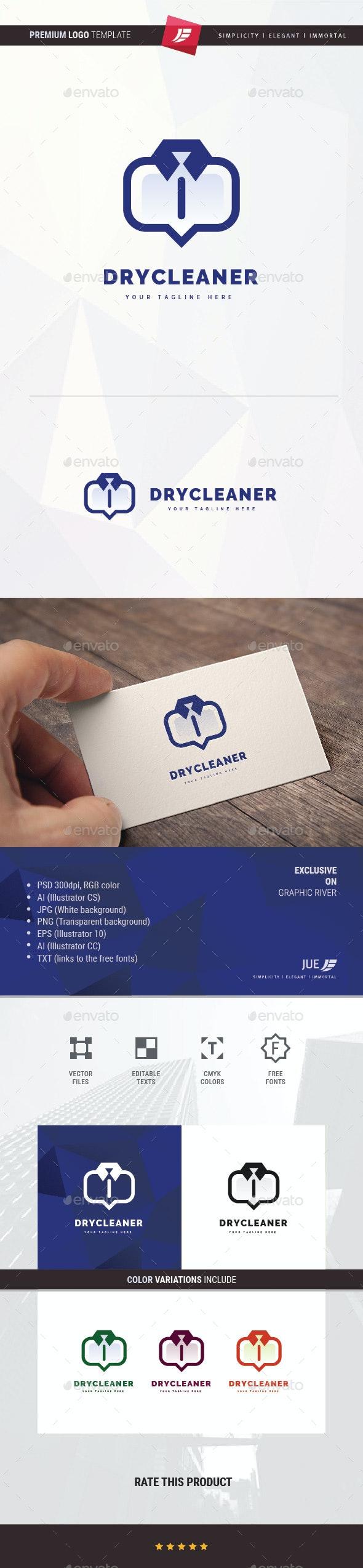Dry Cleaner Logo - Symbols Logo Templates