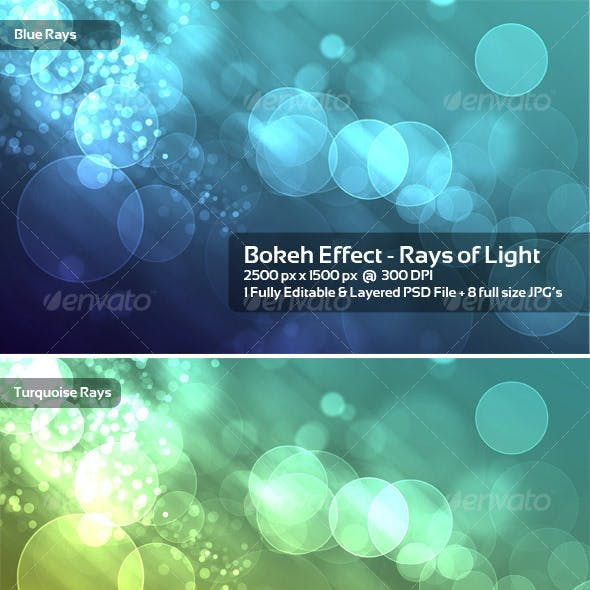 Bokeh Effect - Rays of Light