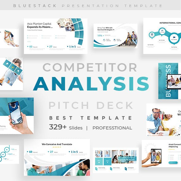 Competitor Analysis Pitch Deck Keynote Template
