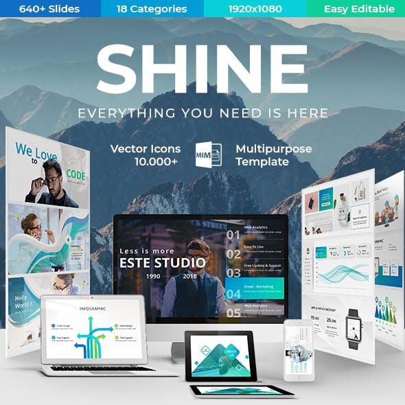 Shine Business Google Slide Template