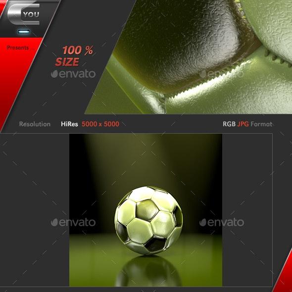 Soccer Ball Spot Light - 3D Backgrounds