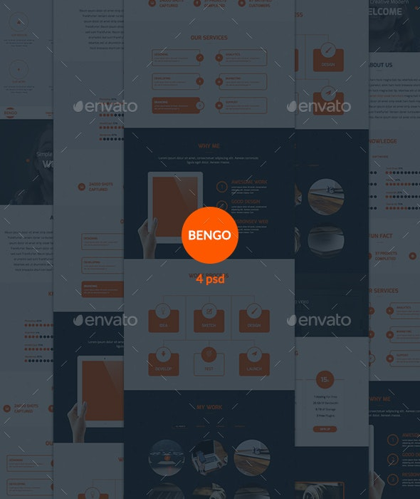Email Newsletter - Bengo - E-newsletters Web Elements