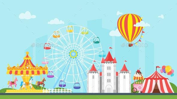 Carnival for Kids - Miscellaneous Vectors