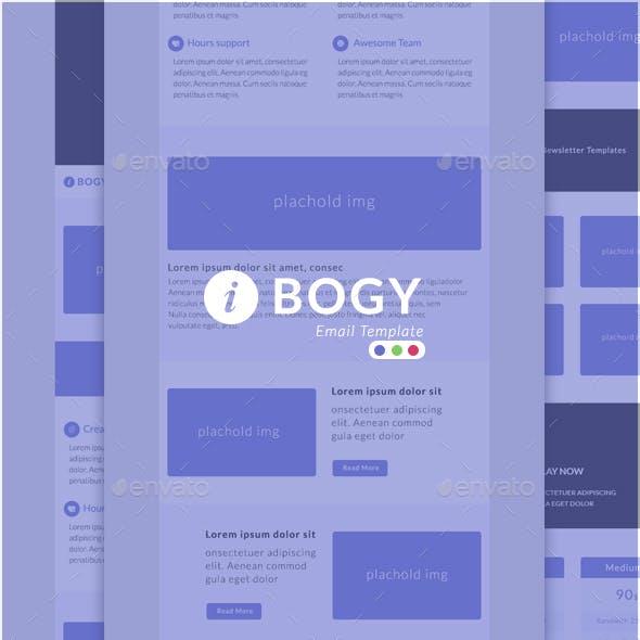 Email Newsletter - Bogy