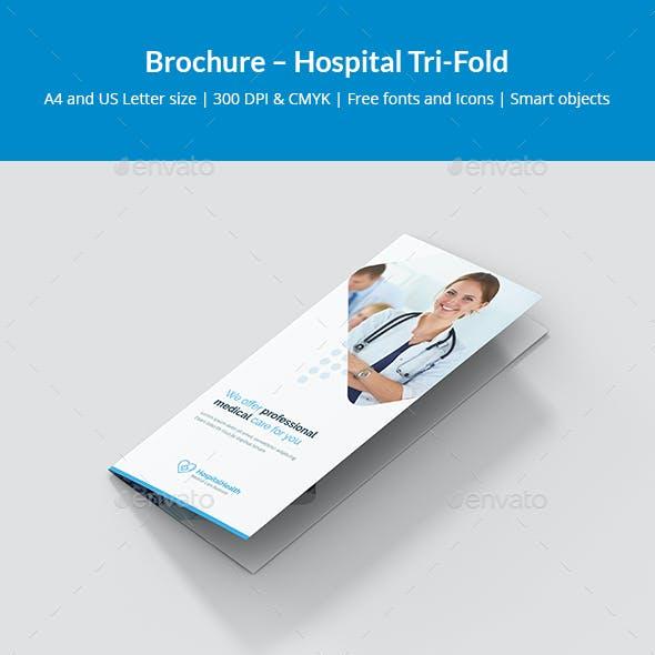 Brochure – Hospital Tri-Fold