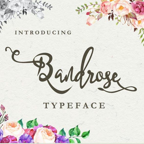 BandRose Typeface