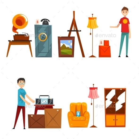 Garage Sale Set - Man-made Objects Objects