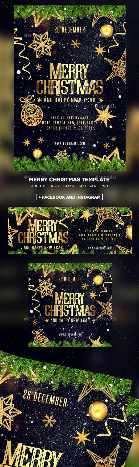 Christmas Flyers.Merry Christmas Flyer
