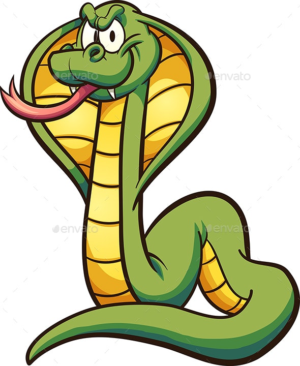 Cartoon Cobra - Animals Characters