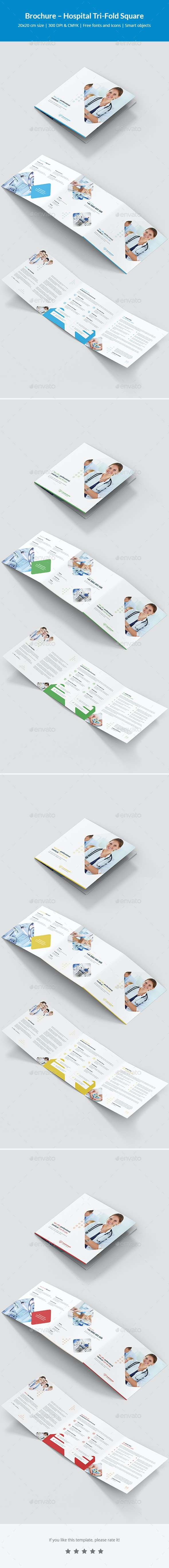 Brochure – Hospital Tri-Fold Square - Corporate Brochures