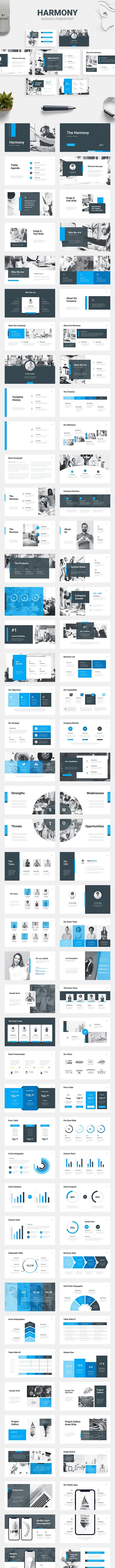 Harmony - Business Presentation - PowerPoint Templates Presentation Templates