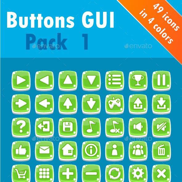Buttons GUI Pack 1