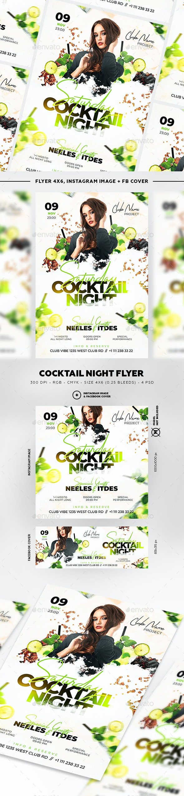 Cocktail Night - Clubs & Parties Events
