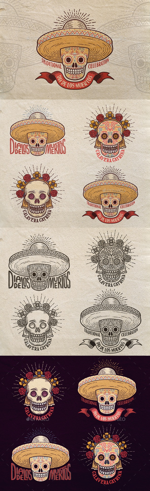 Day of the Dead Sugar Skull - Miscellaneous Seasons/Holidays
