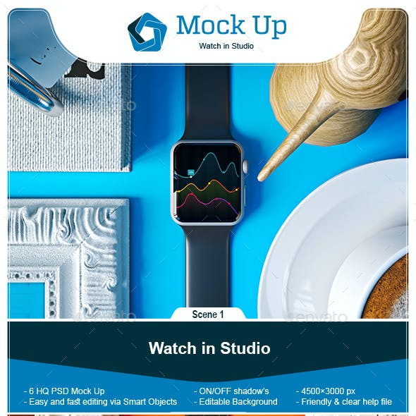 iWatch in Studio