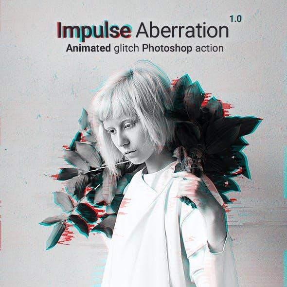 Animated Glitch - Impulse Aberration