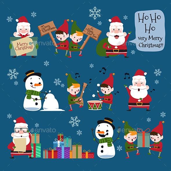 Christmas Characters Part 1 - Christmas Seasons/Holidays