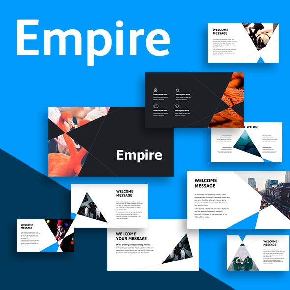 Empire Google Slides Template