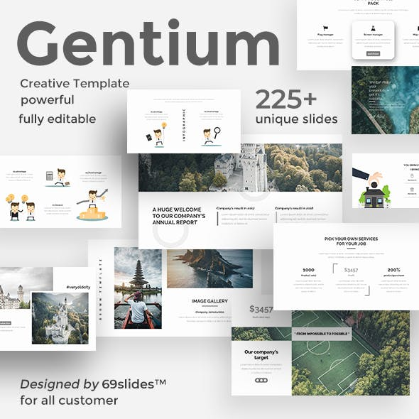 Gentium Creative Powerpoint Template