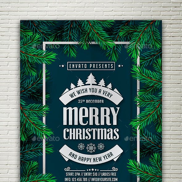 Christmas & New Year Flyer