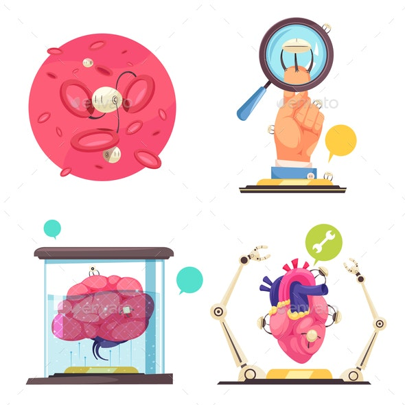 Nanotechnologies 2x2 Design Concept - Computers Technology