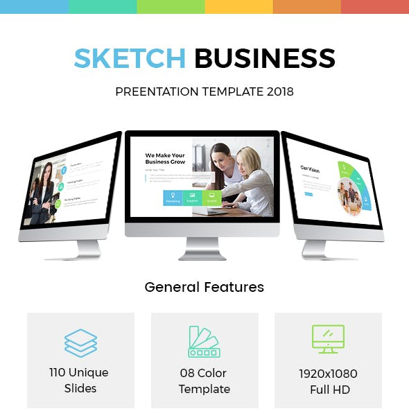 Sketch Business Powerpoint Template 2018