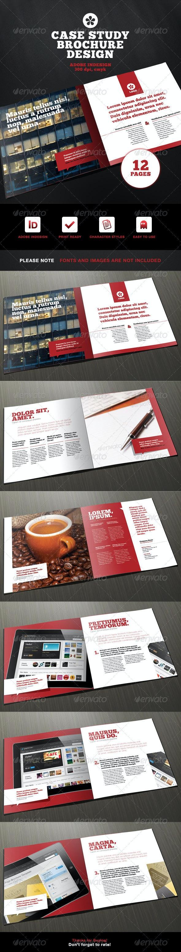 Professional Case Study Brochure Design - Corporate Brochures