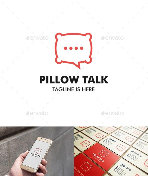 Pillow Talk Logo - Logo Templates