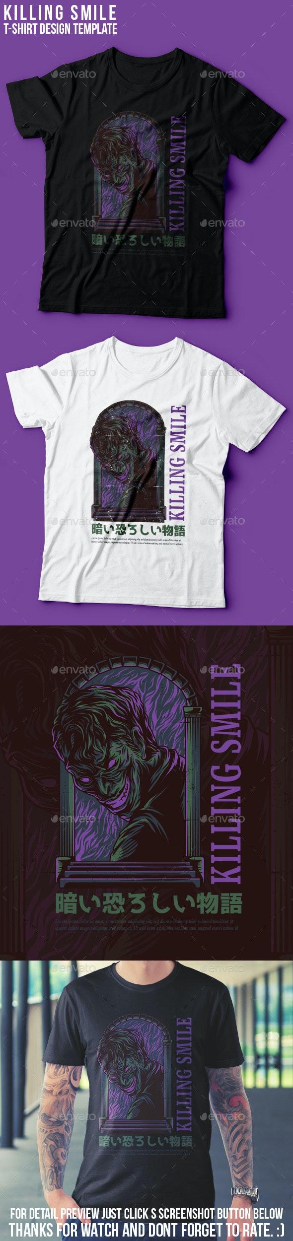 Killing Smile T-Shirt Design - Events T-Shirts