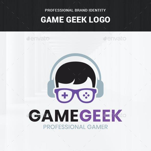 Game Geek Logo Template