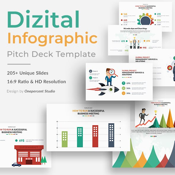Dizital Infographic Pack Keynote Template