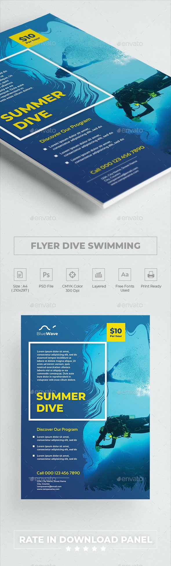 Flyer Dive Swimming - Sports Events