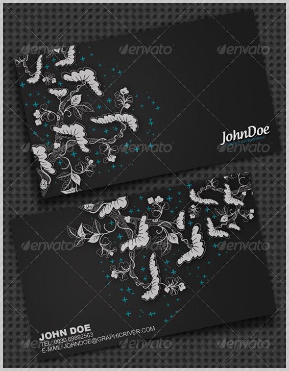 Flower Business Card - Creative Business Cards