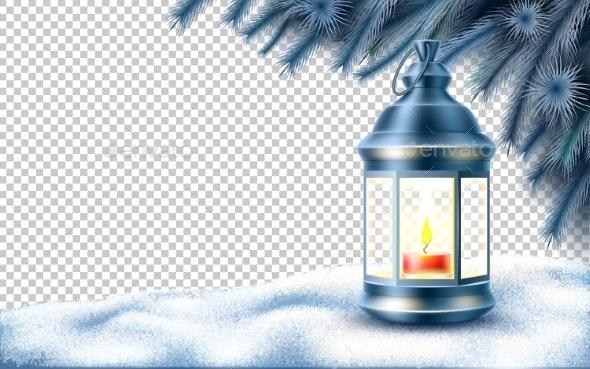 Vector Christmas New Year Holiday Poster Banner - Christmas Seasons/Holidays