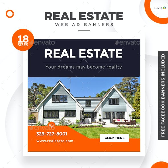 Real Estate Banners - Updated!