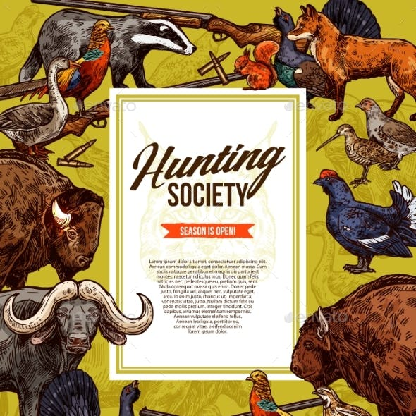 Wild Animals and Birds Hunting