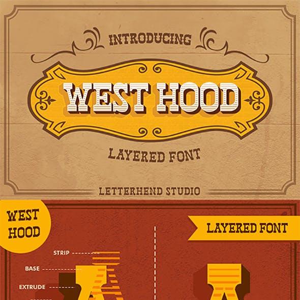 West Hood 6 Fonts by letterhend