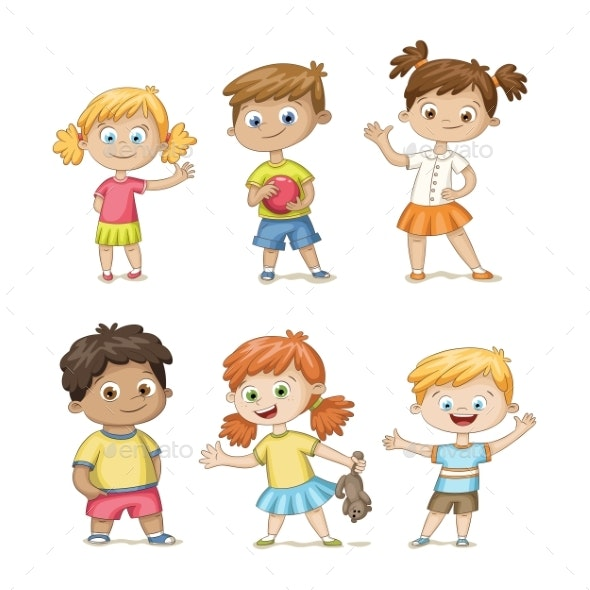 Collection of Some Children - People Characters