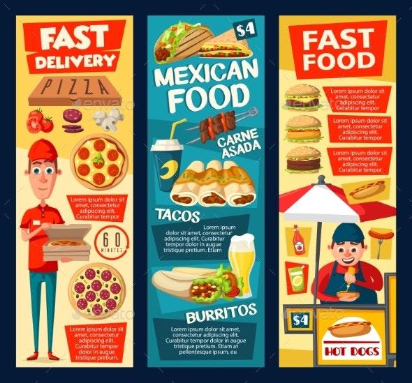 Fast Food Vendor - Food Objects