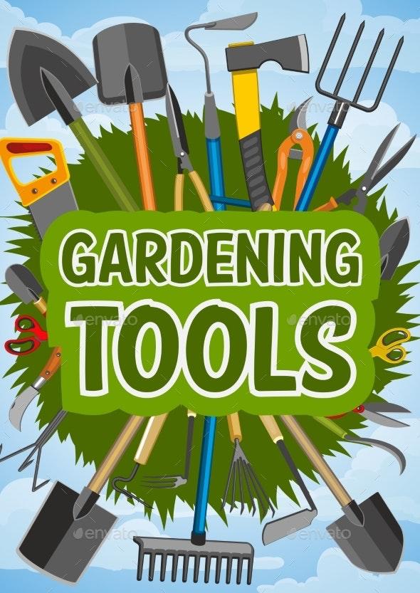 Gardening Tools and Farming - Miscellaneous Vectors