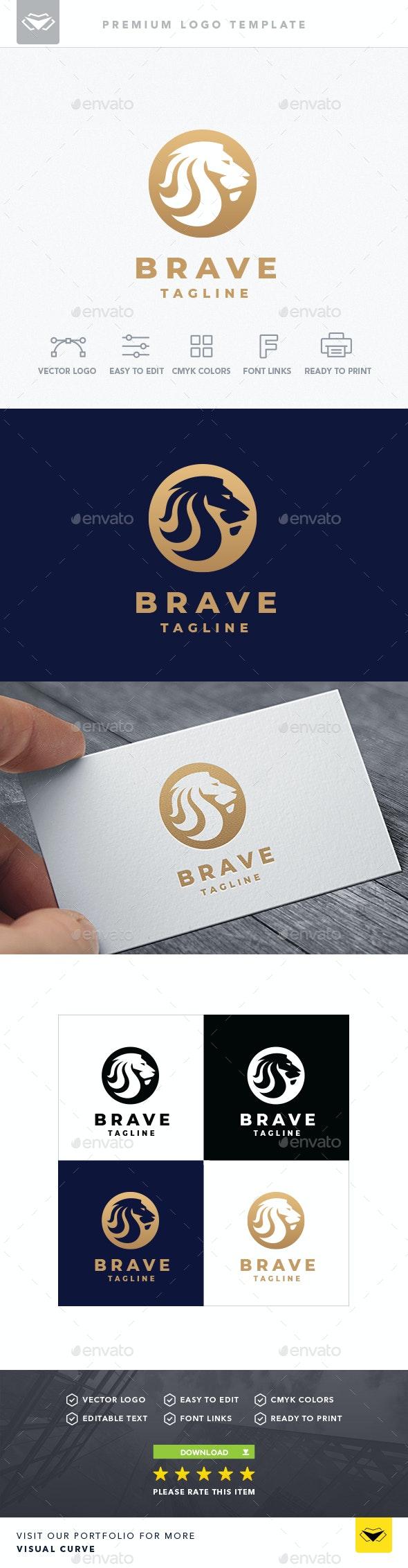 Brave Logo - Logo Templates