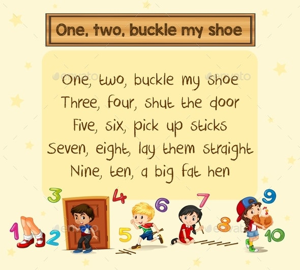 One Two Buckle My Shoe Song - Miscellaneous Conceptual