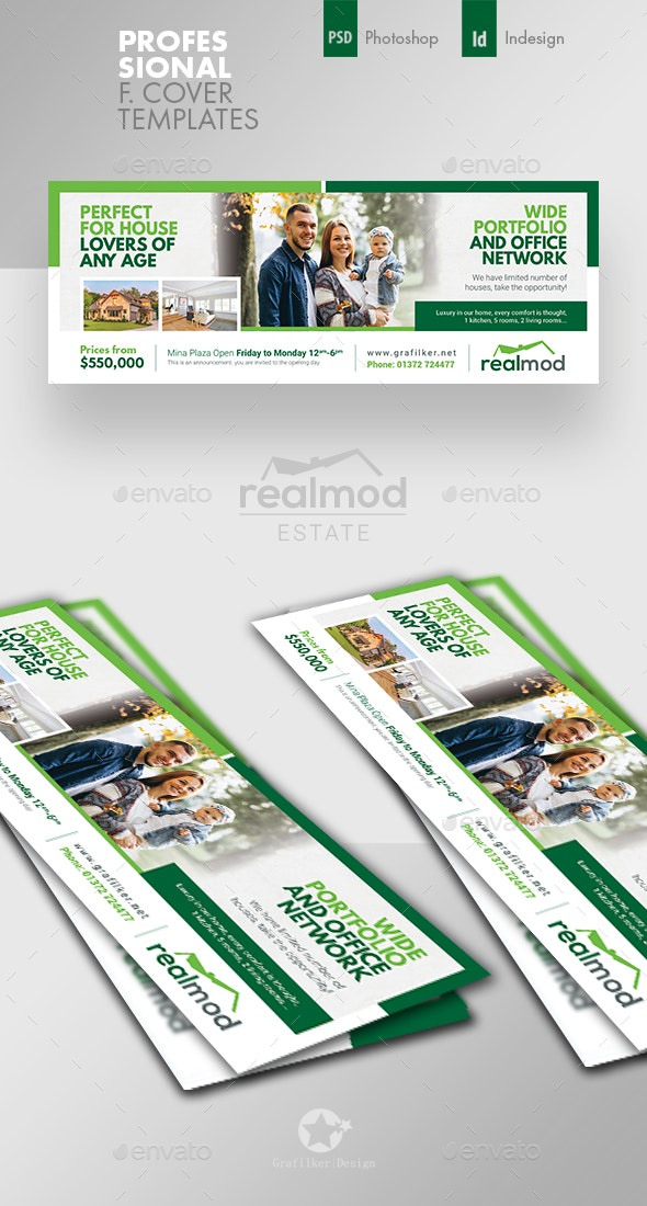 Real Estate Cover Templates - Facebook Timeline Covers Social Media