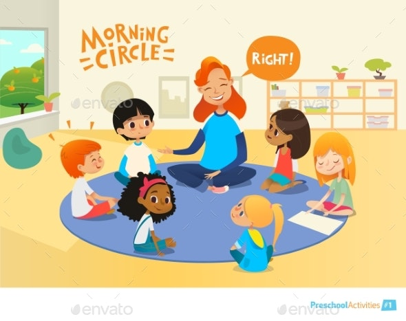 Circle-Time - Miscellaneous Vectors