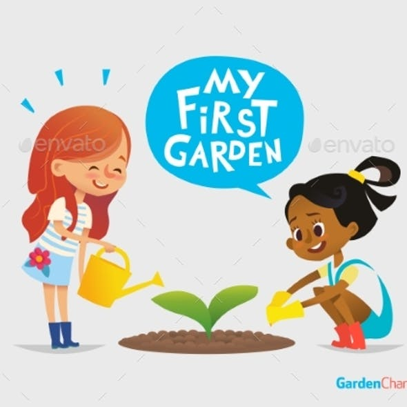Kids Care for Plants