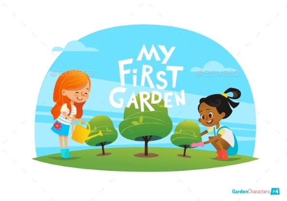 Kids Care for Plants - Flowers & Plants Nature