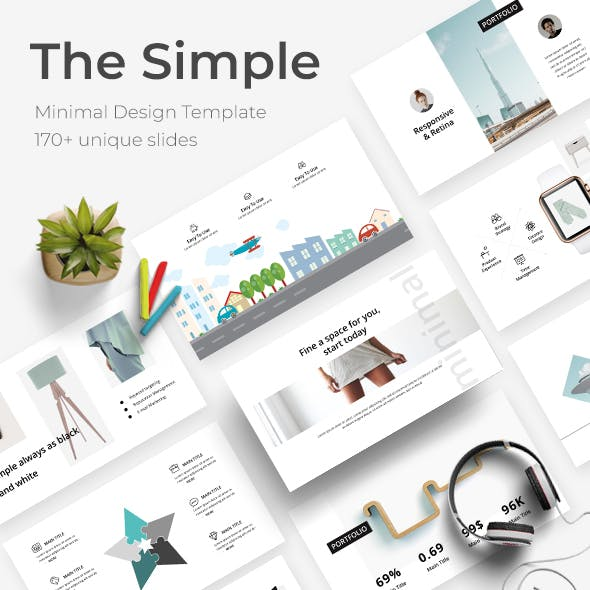 The Simple Minimal Powerpoint Template