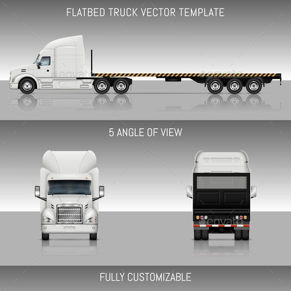 Flatbed Truck