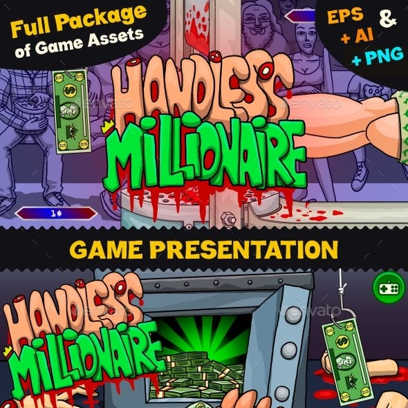 Game Assets for Handless Millionaire